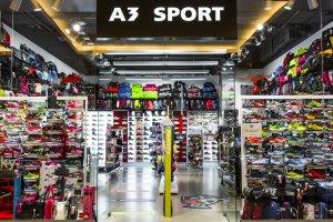 6266c8b906f Až do konce letních prázdnin je uzavřena prodejna se sportovní obuví a  doplňky A3 Sport. Od září pak tuto prodejnu najdete na patře -2 v prodejně