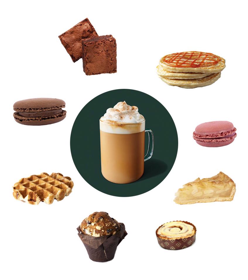 Pumpkin Spice Latte, Starbucks, orientační cena 119 Kč