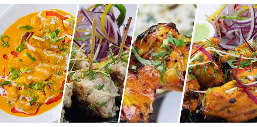 Chicken Tikka Masala, Indian Accent, orientační cena 270 Kč