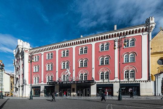 PALLADIUM budova fasada modernizace